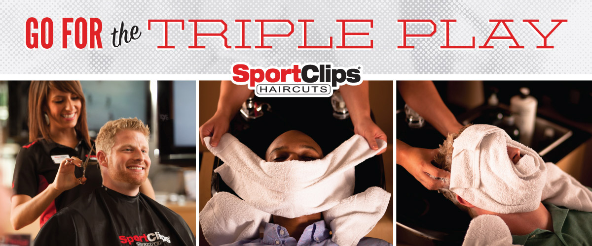The Sport Clips Haircuts of North Ogden - Commons Triple Play