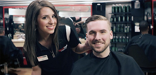 Sport Clips Haircuts of North Ogden - Commons​ stylist hair cut